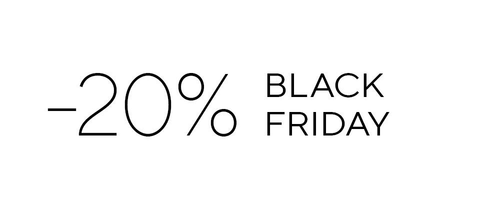 Black Friday – iskoristi 20% popusta!